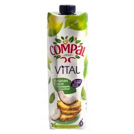 JUS DE FRUIT COMPAL ANANAS COCO 1L