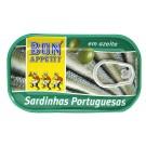 SARDINES HUILE D'OLIVE BAP 120 GR
