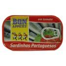 SARDINES SAUCE TOMATE BAP 120 GR
